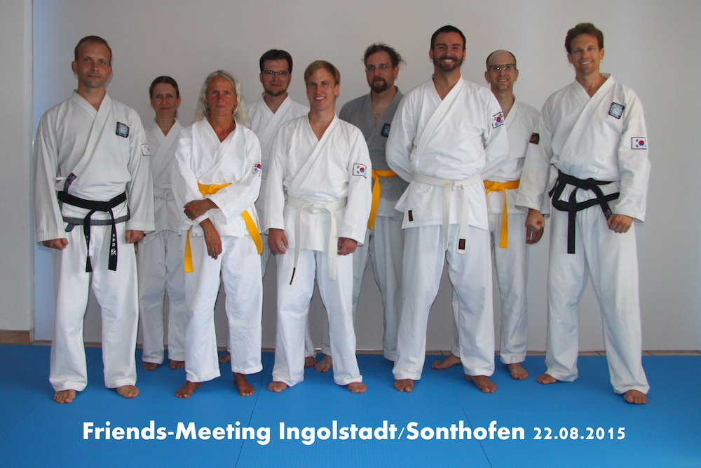 Friends meeting IN SF 22.08.2015 Gruppe