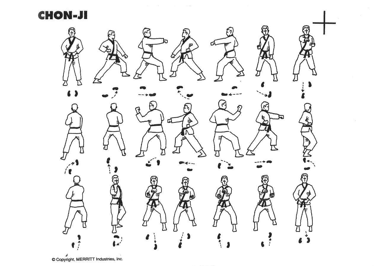 1. Chon-Ji - KWON Kampfkunstschule